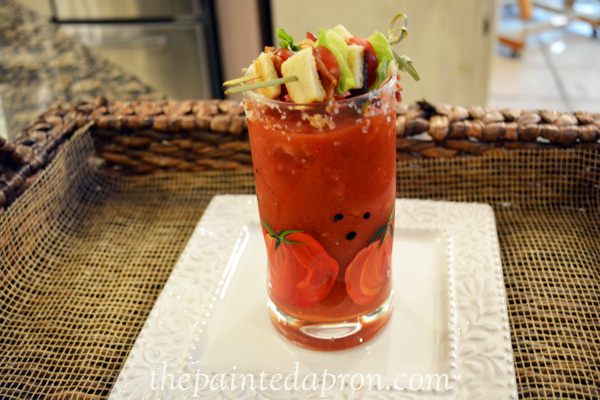 BLT bloody mary thepaintedapron.com
