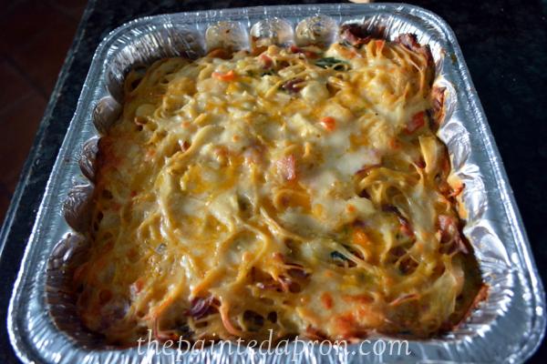 chicken cordon bleu casserole thepaintedapron.com