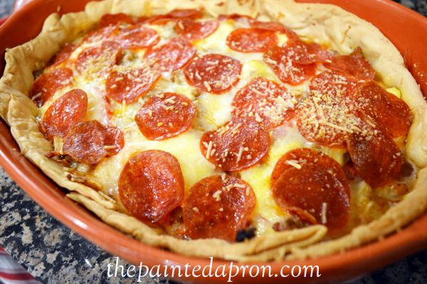 deep dish pizza thepaintedapron.com