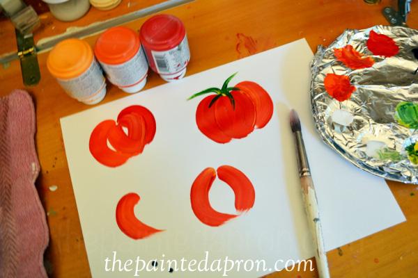 tomato tutorial thepaintedapron.com