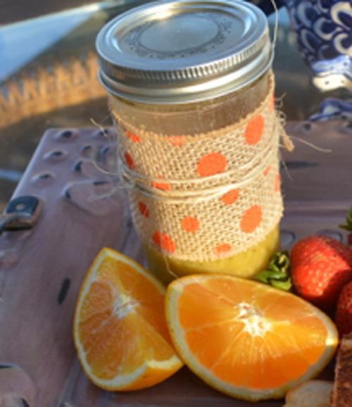 orange marmalade vinaigrette thepaintedapron.com