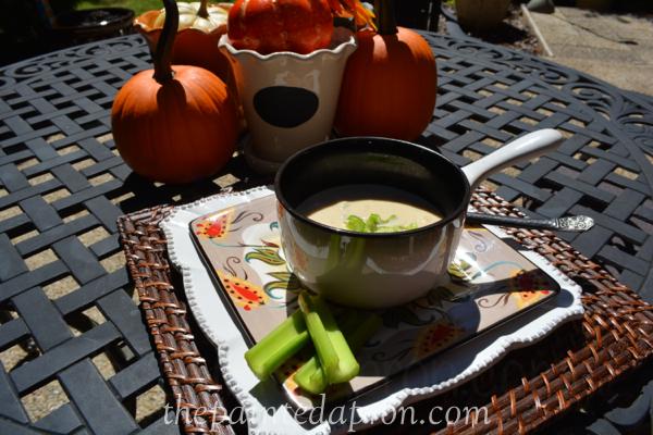 peanut butter soup 1 thepaintedapron.com