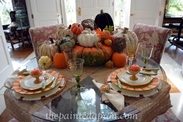 pumpkin patch table thepaintedapron.com