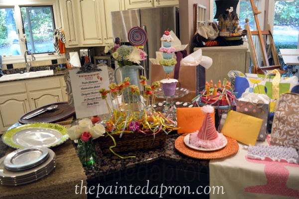 party buffet thepaintedapron.com