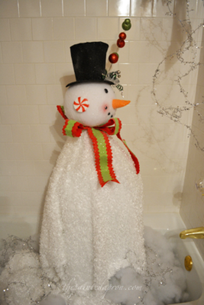 Frosty's shower thepaintedapron.com