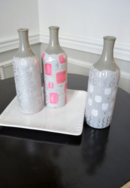 painted bottles thepaintedapron.com