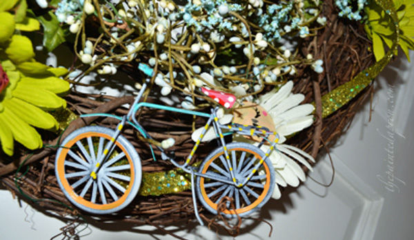 funky bicycle thepaintedapron.com