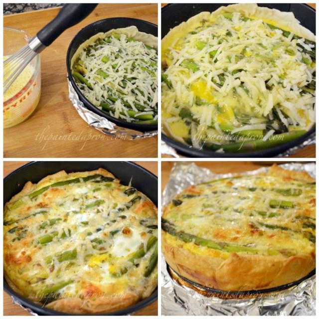 spring veggie quiche 4 thepaintedapron.com