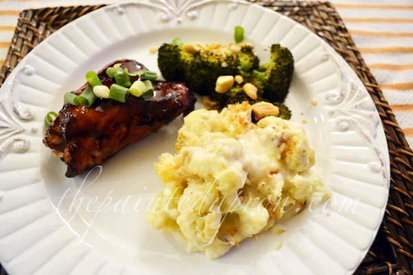 cauliflower bake thepaintedapron.com