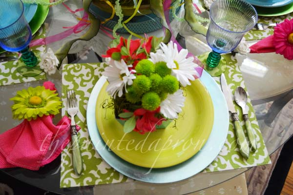 Mayday table 5 thepaintedapron.com