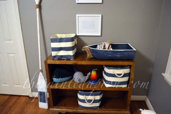nautical toy shelves thepaintedapron.com
