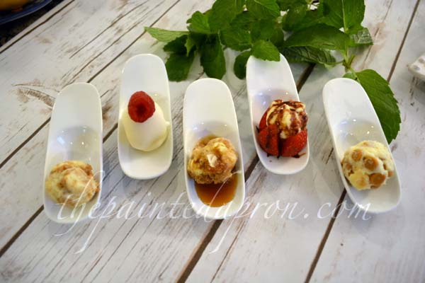 petite cheesecake boules 3 thepaintedapron.com