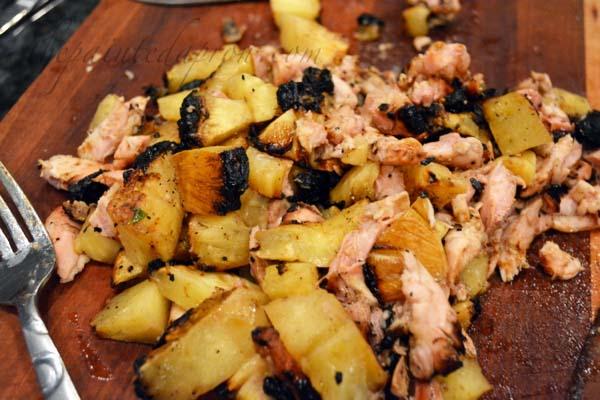 pineapple marinated chicken thepaintedapron.com