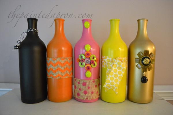 bling bottles thepaintedapron.com