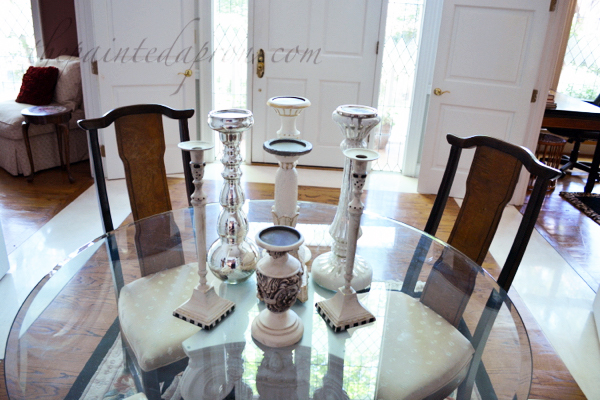 candlesticks thepaintedapron.com