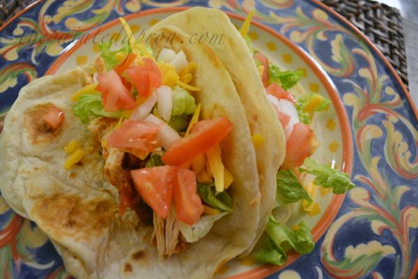 salsa chicken chalupas 1 thepainteapron.com