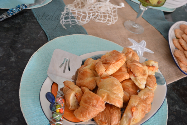 pimento cheese croissants