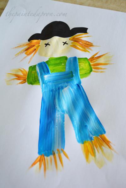 painted scarecrow thepaintedapron.com