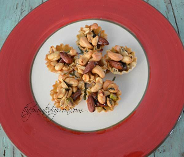 rosemary mixed nut tartlettes 1