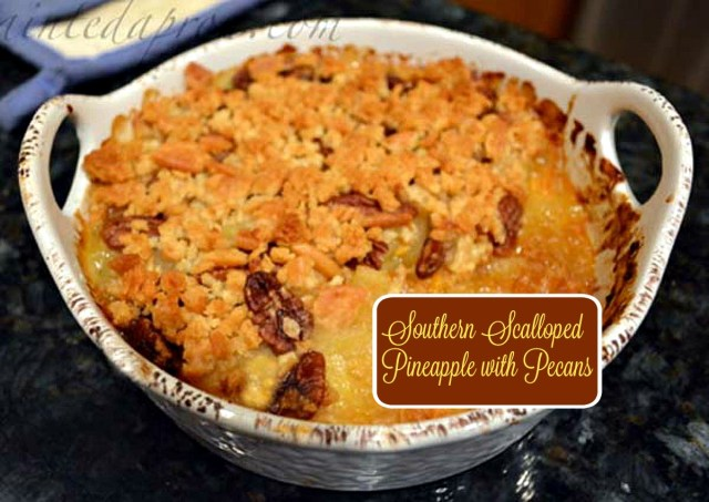 Southern Scalloped Pineapple with Pecans