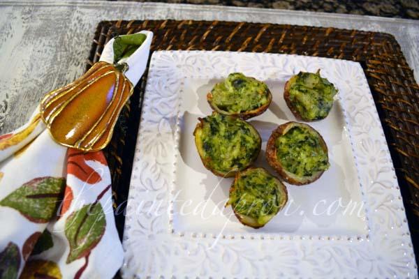 spinach & artichoke potatoes