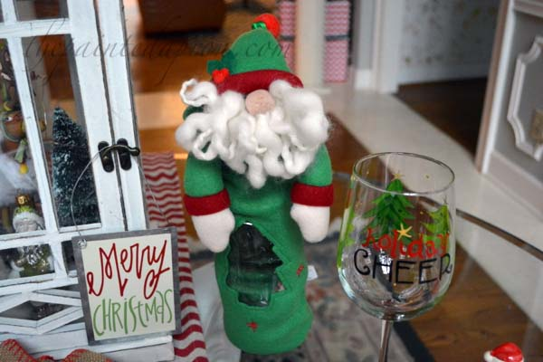 Holiday Cheer glass