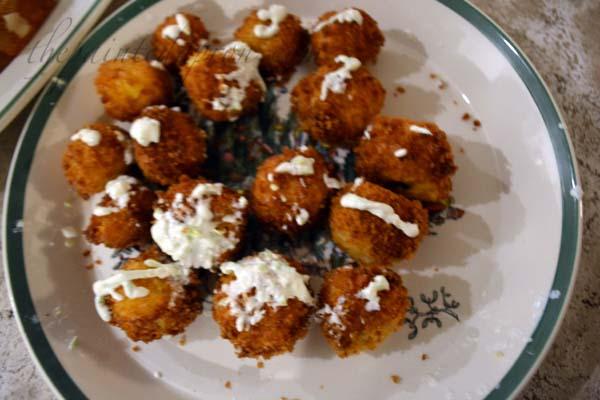 panko potato balls