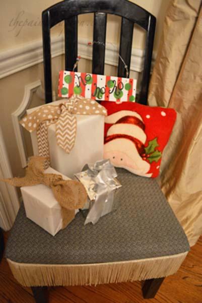Santa land chair
