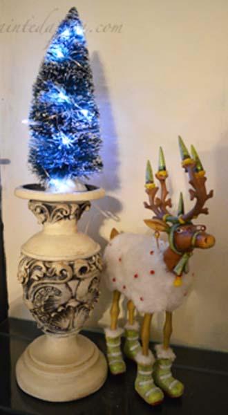tree on candlestick