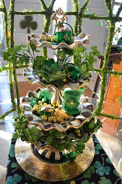 Irish Gold centerpiece