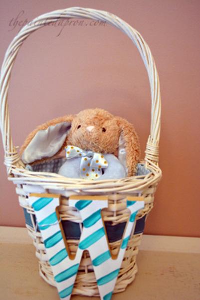 baby Easter basket
