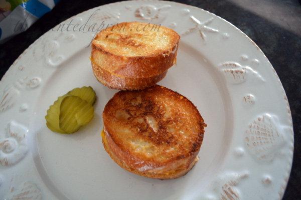 baby grilled cheese
