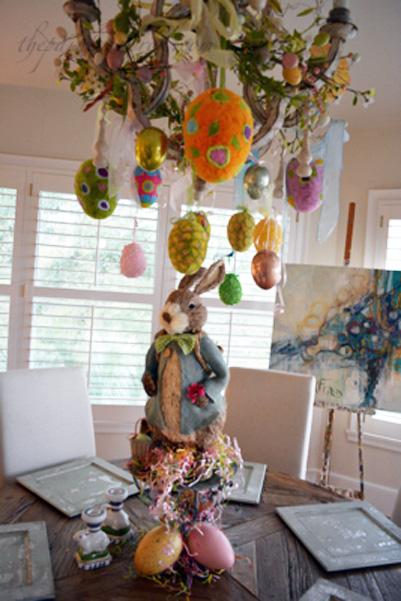 Easter chandy & centerpiece