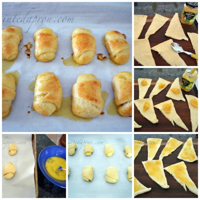 lemon roll collage