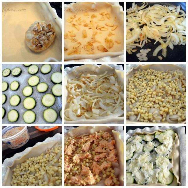 zucchini pimento cheese pie
