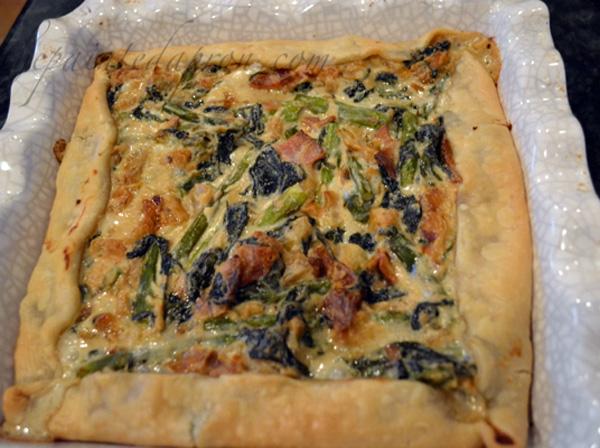 spring vegetable galette