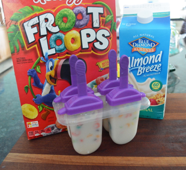 cereal popsicles