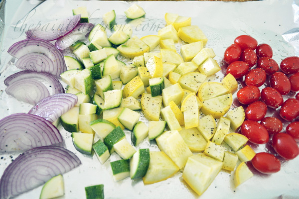 vegetable rainbow