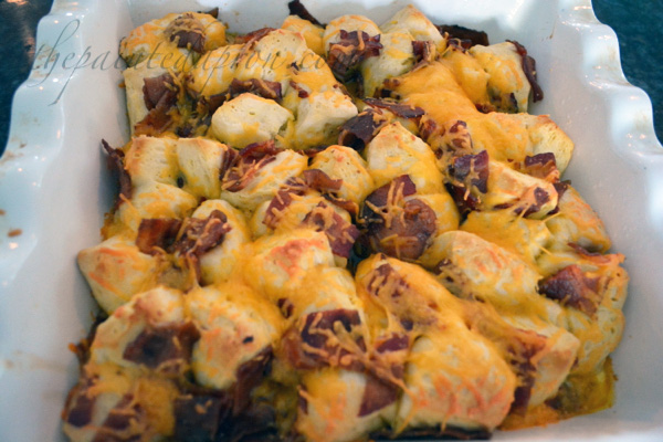 bacon biscuit bake