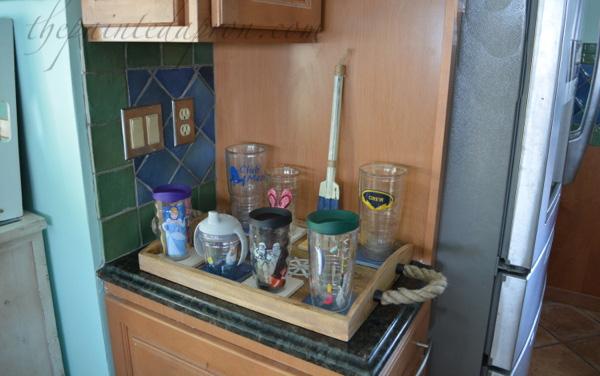 beverage station tray