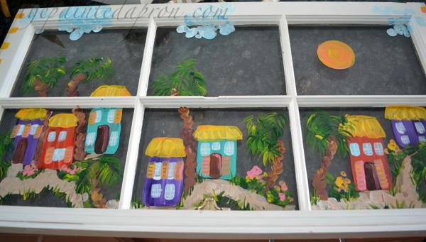 caribbean house window