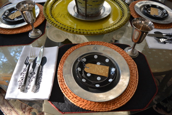 harvest place setting