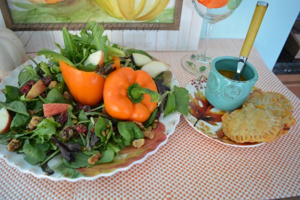 fall-salad-with-pumpkin-pies