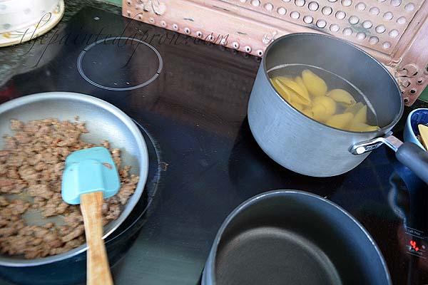 sausage-and-pasta