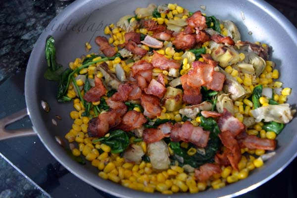 vegetable-and-bacon-saute