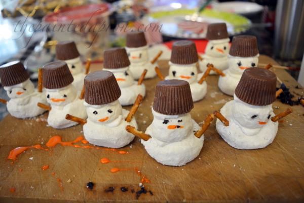 donut-snowmen