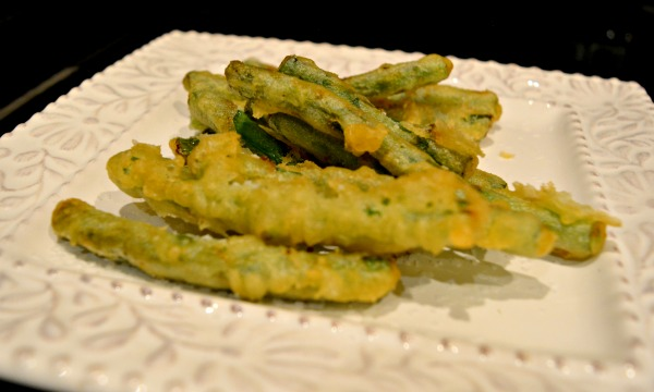 tempura-beans
