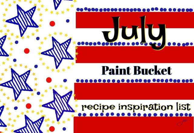 firecracker flag paint bucket