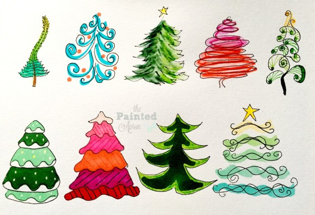 doodle tree styles