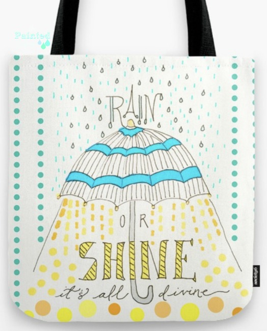 rain or shine tote